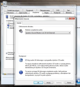 Jeśli jesteś audiofilem i korzystasz z WMP, to nie zapomnij zaznaczyć tej opcji