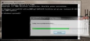 Proces integracji SP2 z plikami instalacyjnymi Office'a 2007 zajmuje tylko kilka minut
