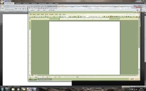 Word 2007 w Windows i wersja 2003 uruchomiona w trybie XPM