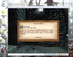 Oblivion dostawał niemałej zadyszki na wirtualnej maszynie z Vistą