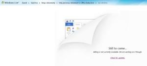 """Obecnie Office Web Apps zostało """"zdjęte""""..."""